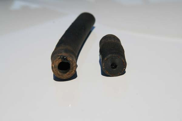 Original style rubber gas line failure in modern fuels.jpg