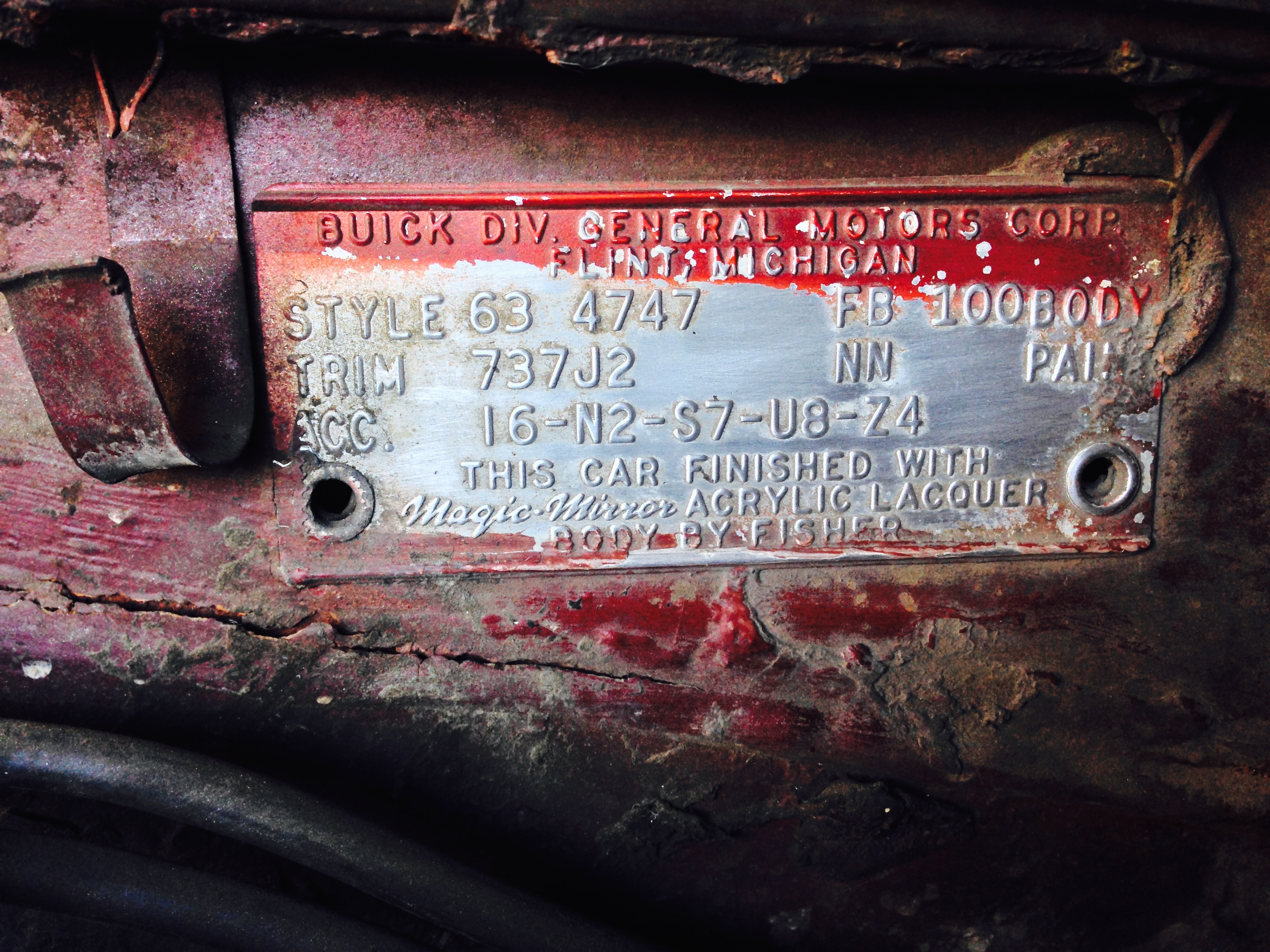 Serial number help? - Buick Riviera - Riviera Owners Association ...