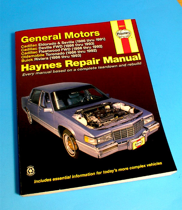 f s 1986 to 1993 riviera repair manual as new buick riviera rh forums aaca org 2000 Buick Riviera 1996 Buick Riviera