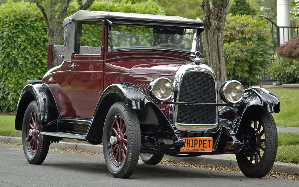 1928 Willys Overland Whippet Cabriolet Coupe Cars For Sale