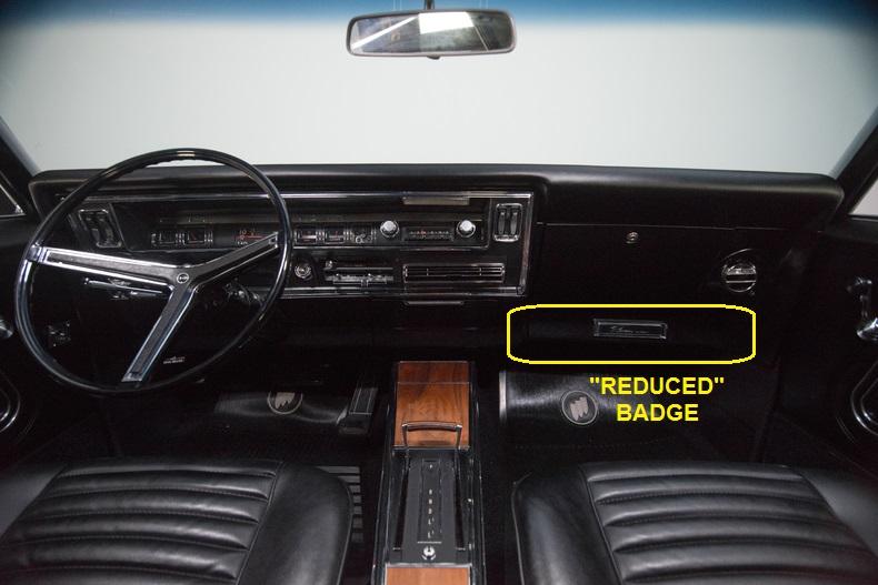 1967 Buick Riviera Interior