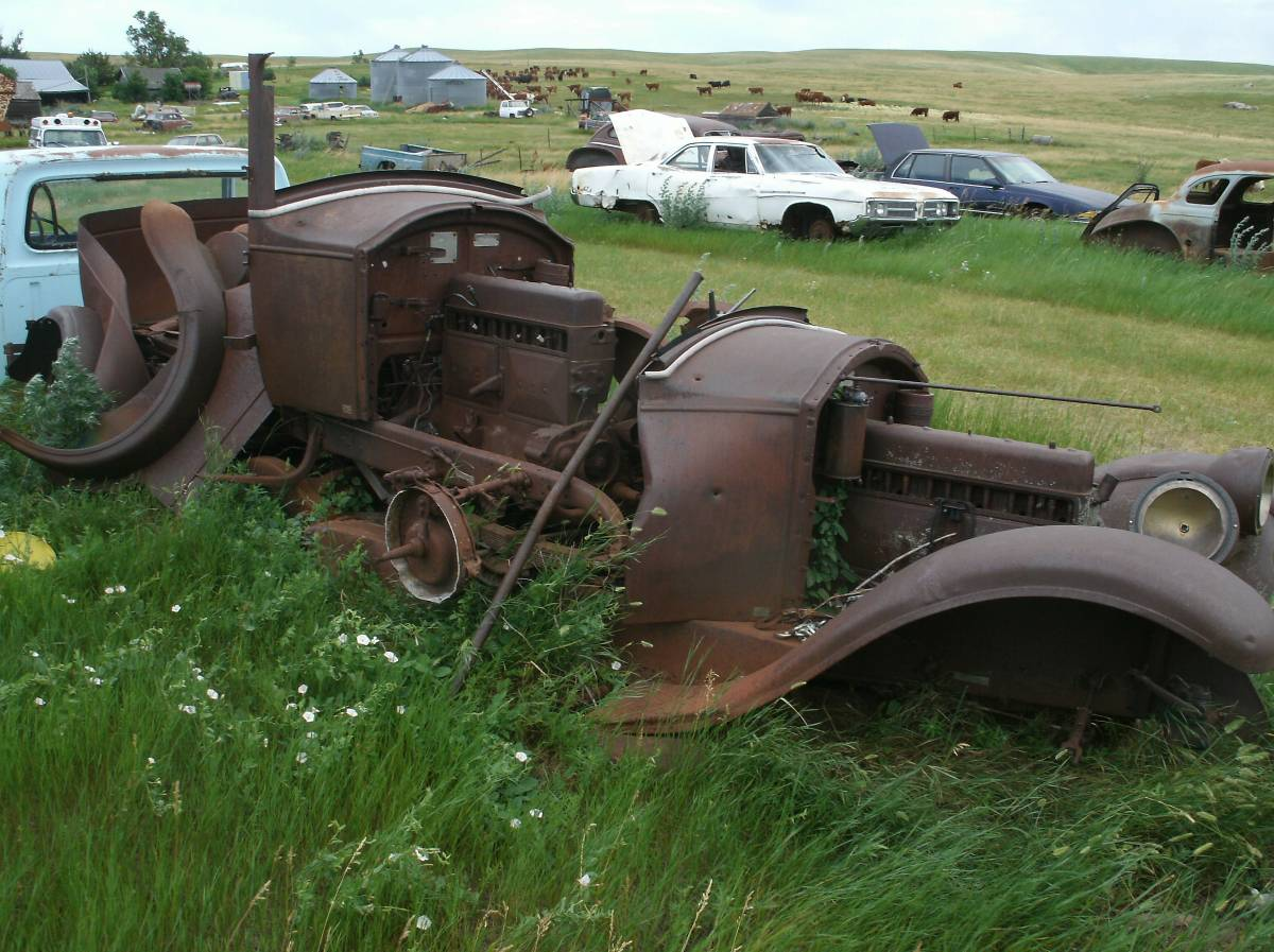 1927 & 1928 Buick Standard parts cars South Dakota craigslist ...