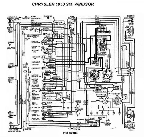 1951 chrysler windsor no spark chrysler products general rh forums aaca org Chrysler 200 Wiring Diagram Chrysler 200 Speedometer Wiring