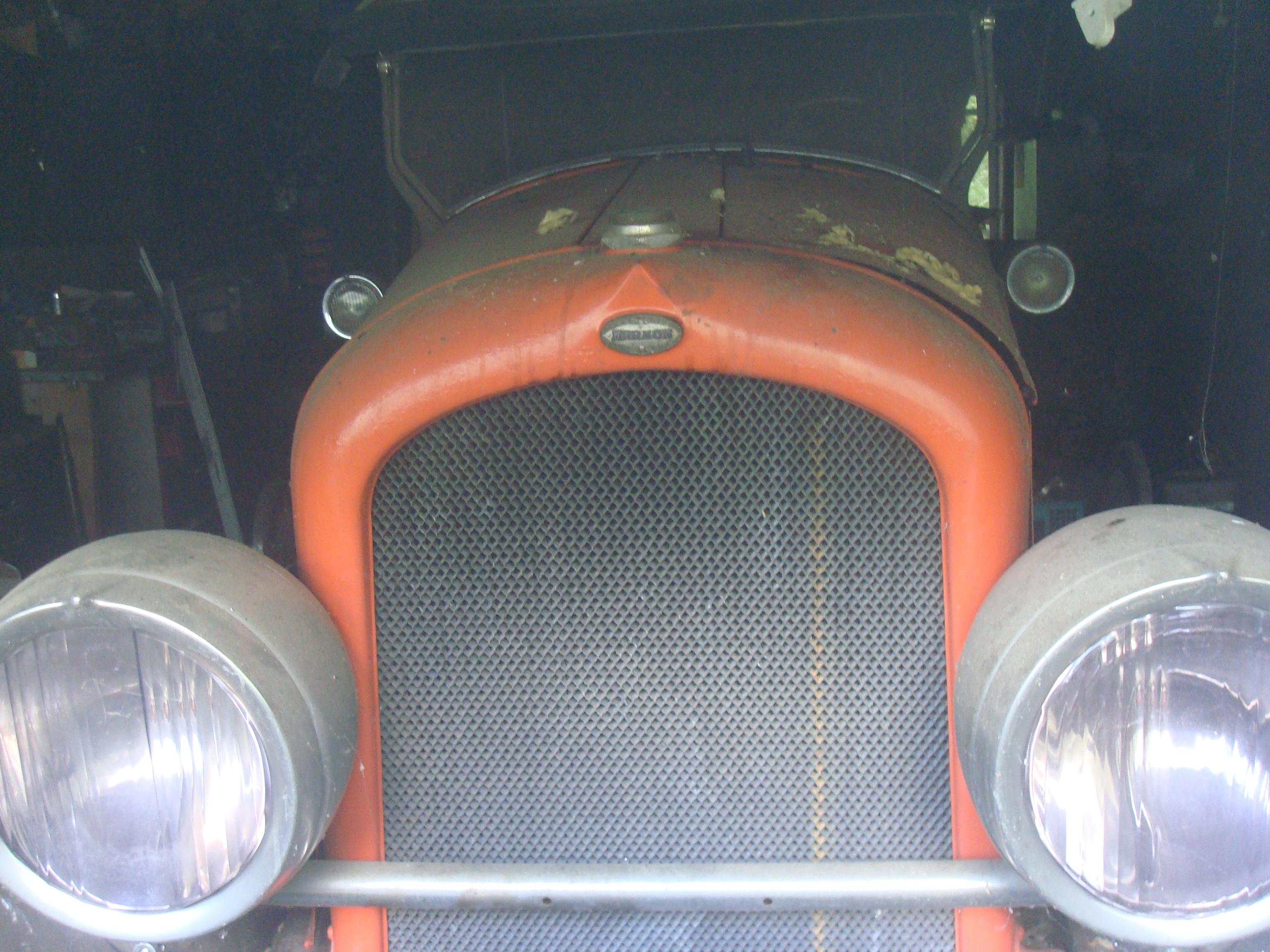 1923 Holbrook Bodied Marmon Model 34C - Marmon - Antique Automobile ...