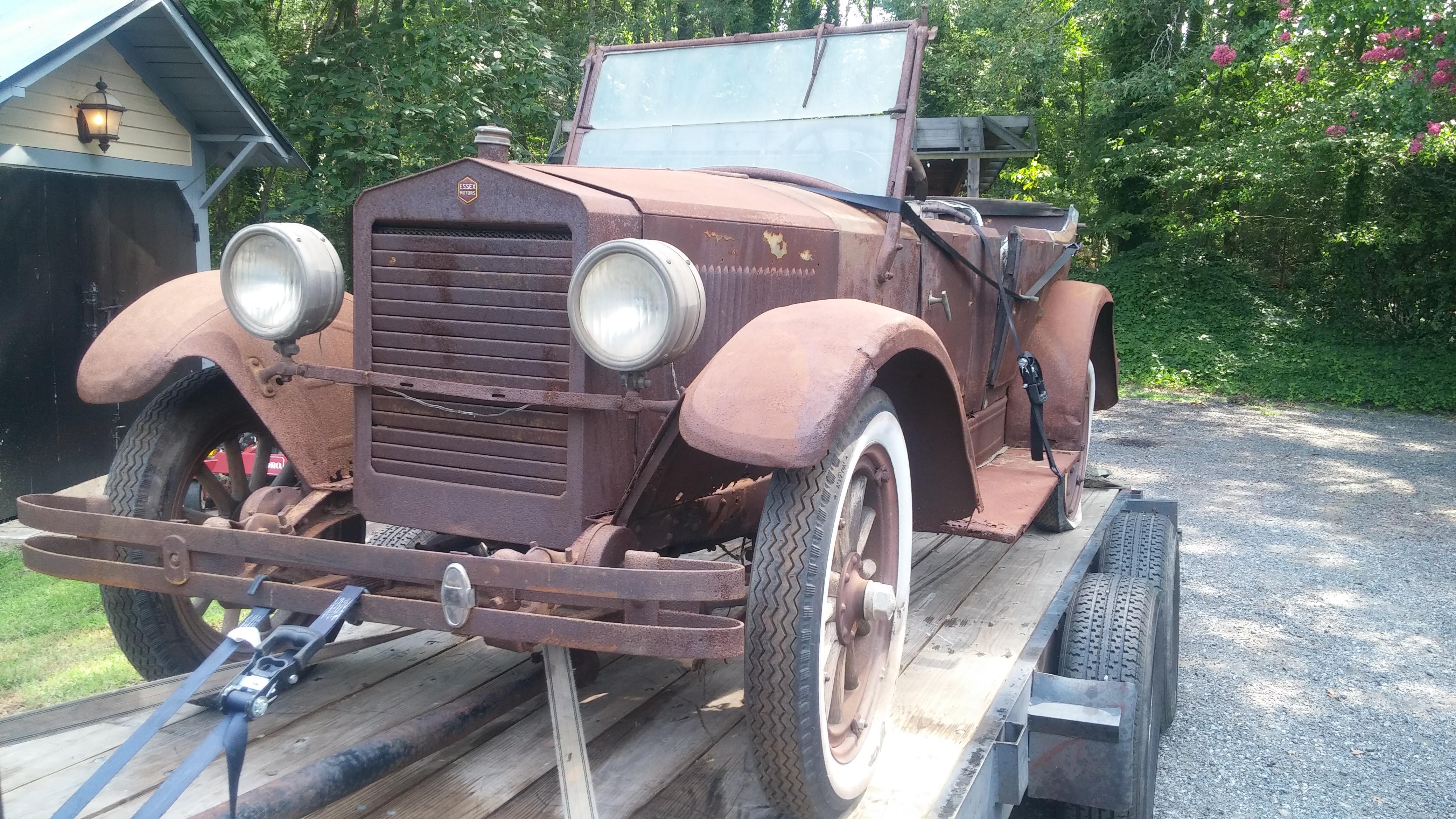 1922 Essex Touring Car Cars For Sale Antique Automobile Club