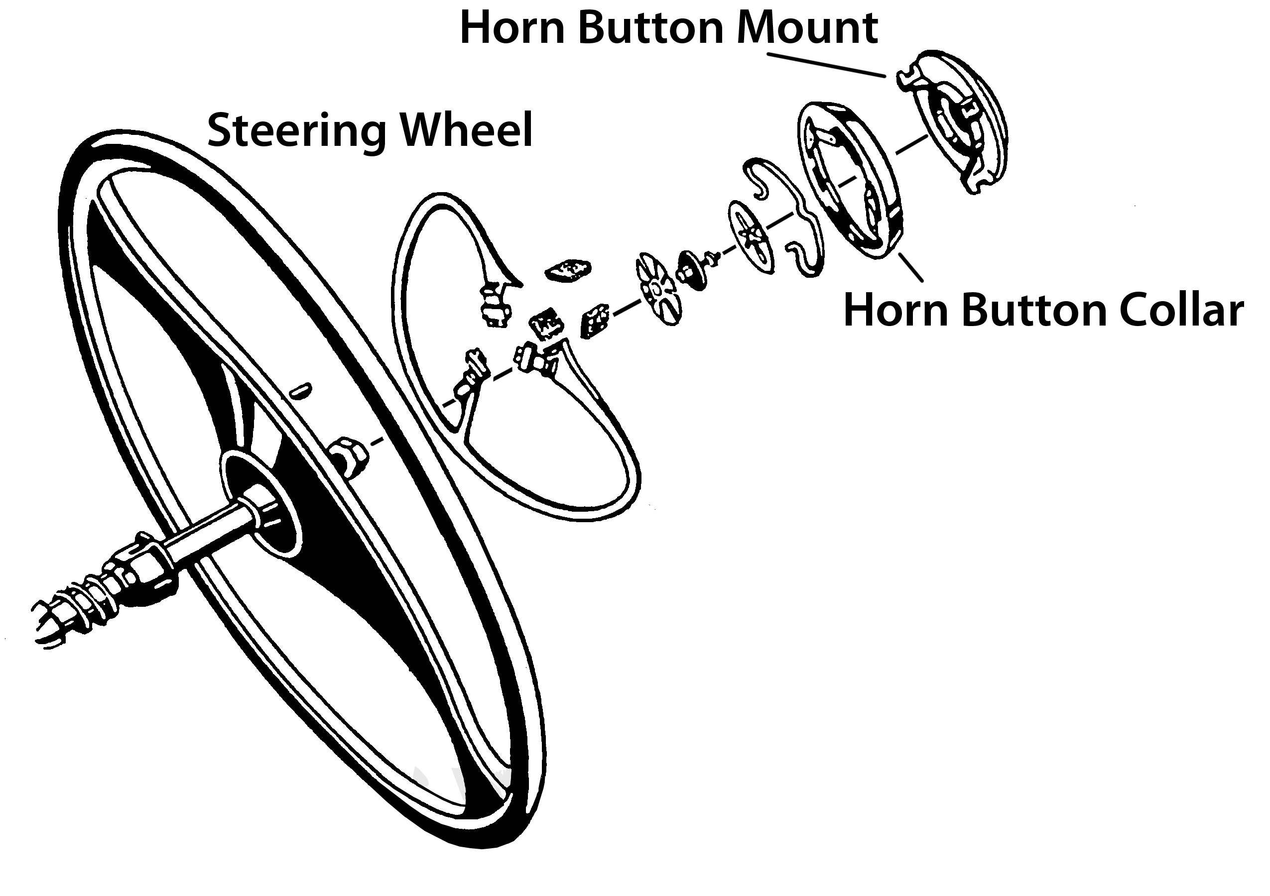 Horn Button Diagram Online Manuual Of Wiring Lincoln Zephyr What Holds In On 41 Lc Steering Wheel Rh Forums Aaca Org 1968 Camaro