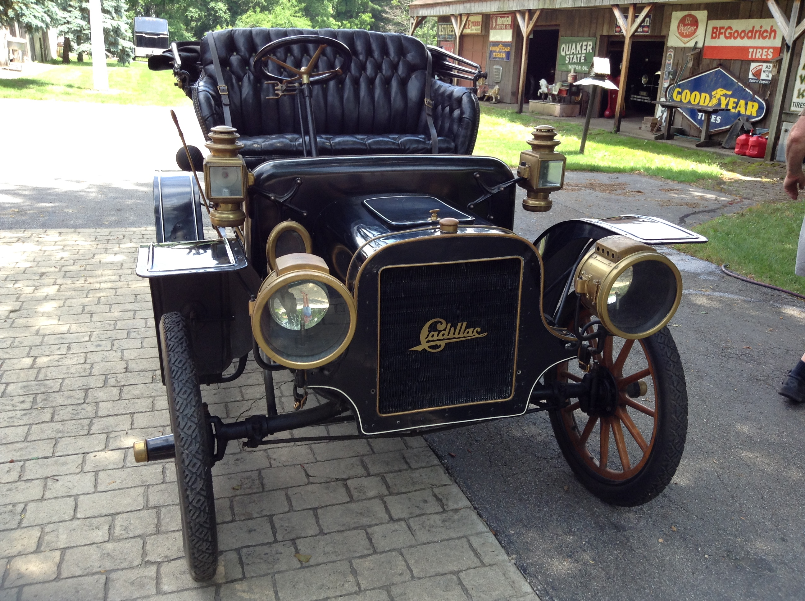 1908 Cadillac Model S Runabout Cars For Sale Antique Automobile