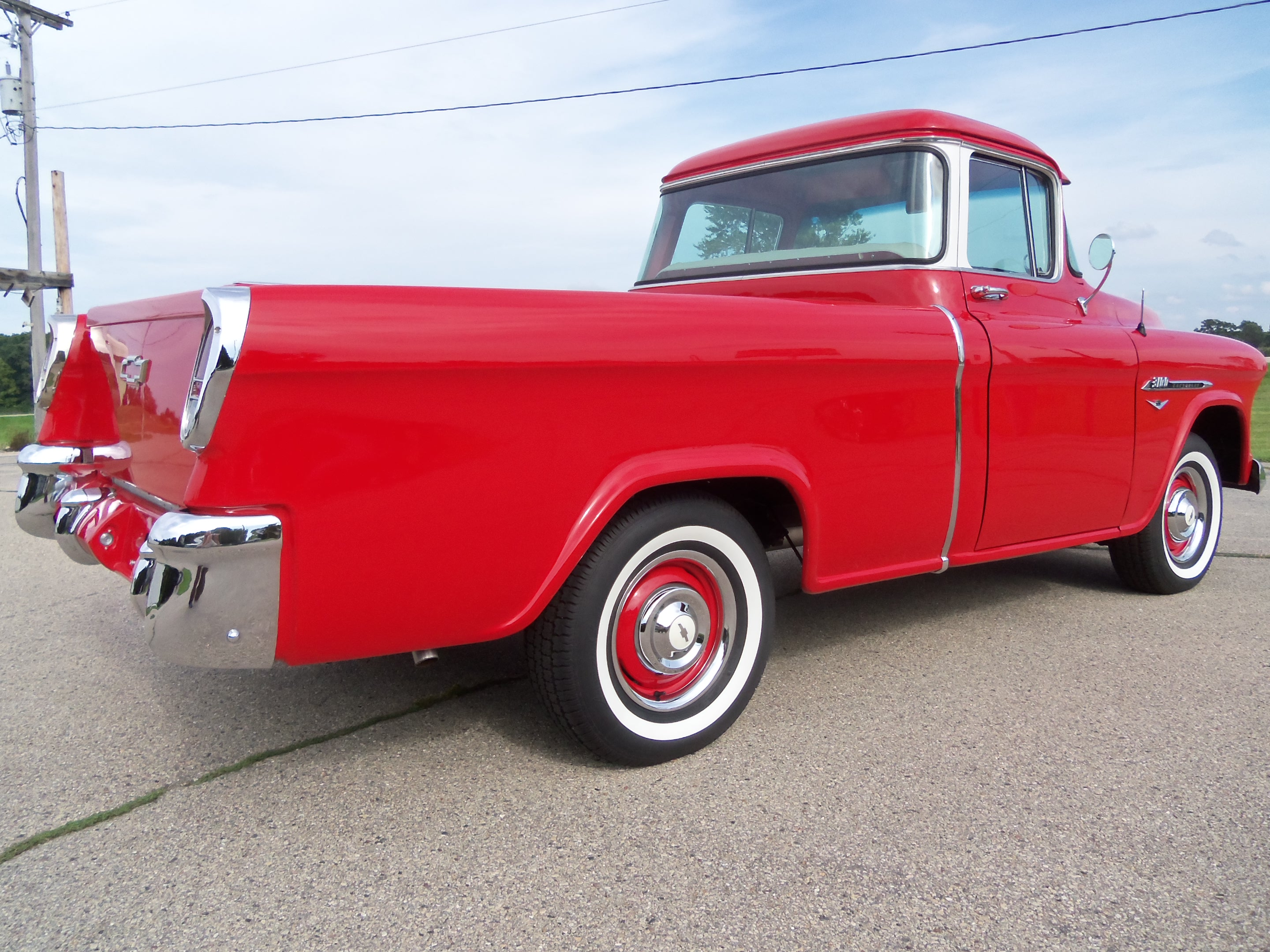 For Sale: A Sharp and Well Restored 1956 Chevrolet Cameo 3100 Pickup