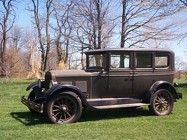 1927 engine removal tips - Chandler & Cleveland - Antique Automobile