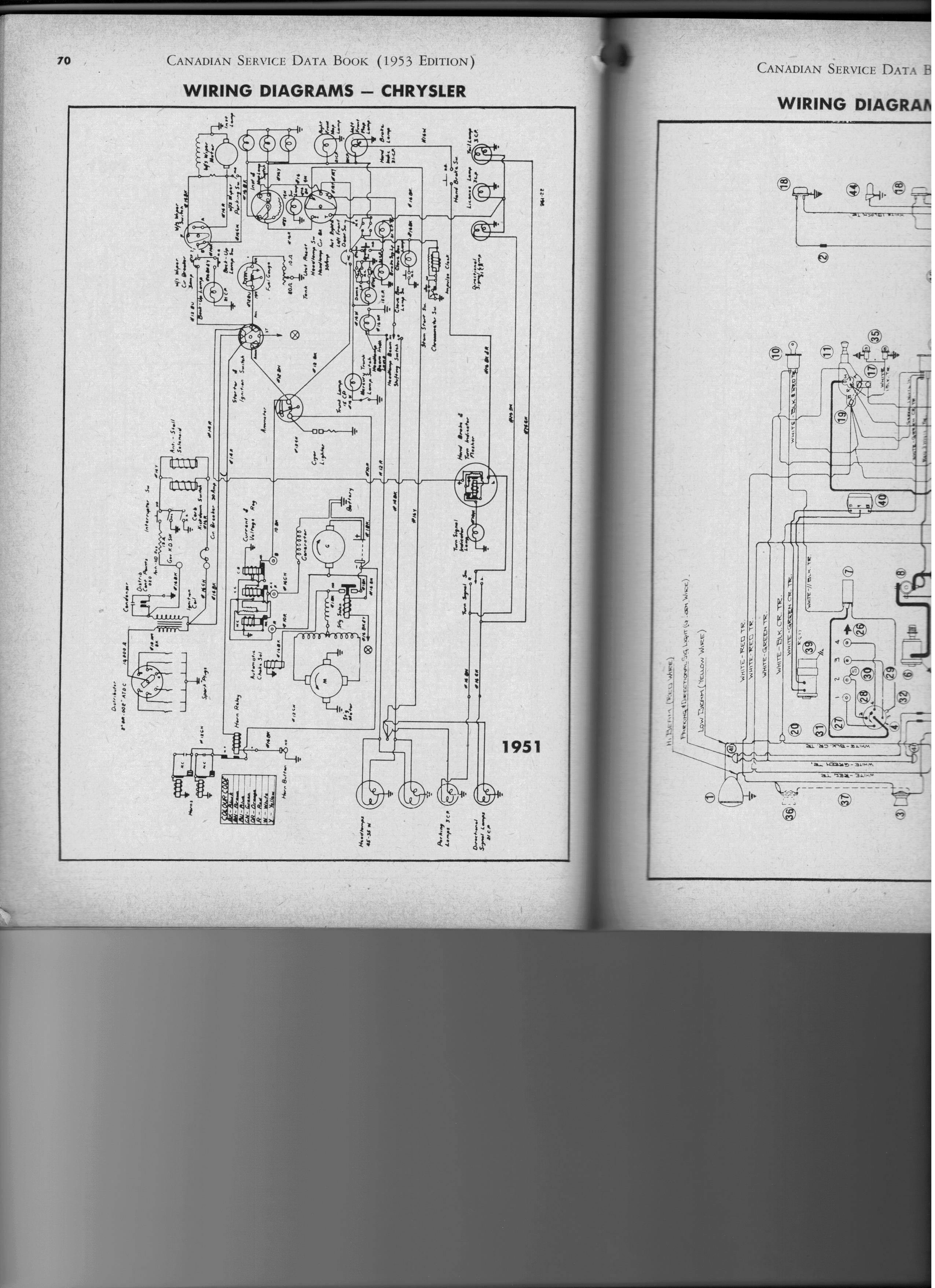 1949 chrysler wiring chart wire colors chrysler products general rh forums aaca org One Wire Alternator Diagram Schematics Basic Wiring Schematics