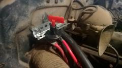 (2016-09-18) 005 Battery Isolator Switch Installed