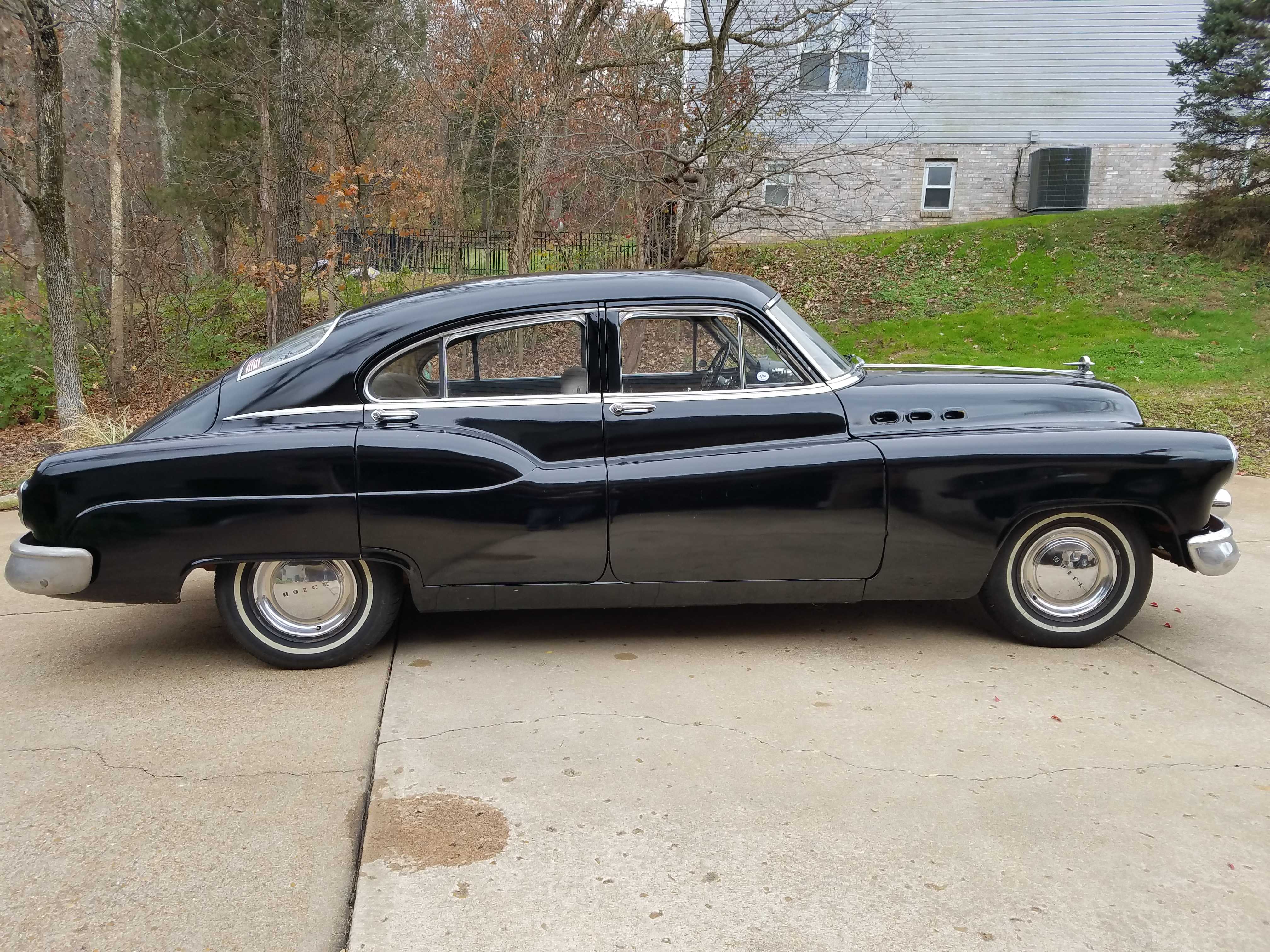 What is the value of a 1950 Buick special 4 door Torpedo Back ...