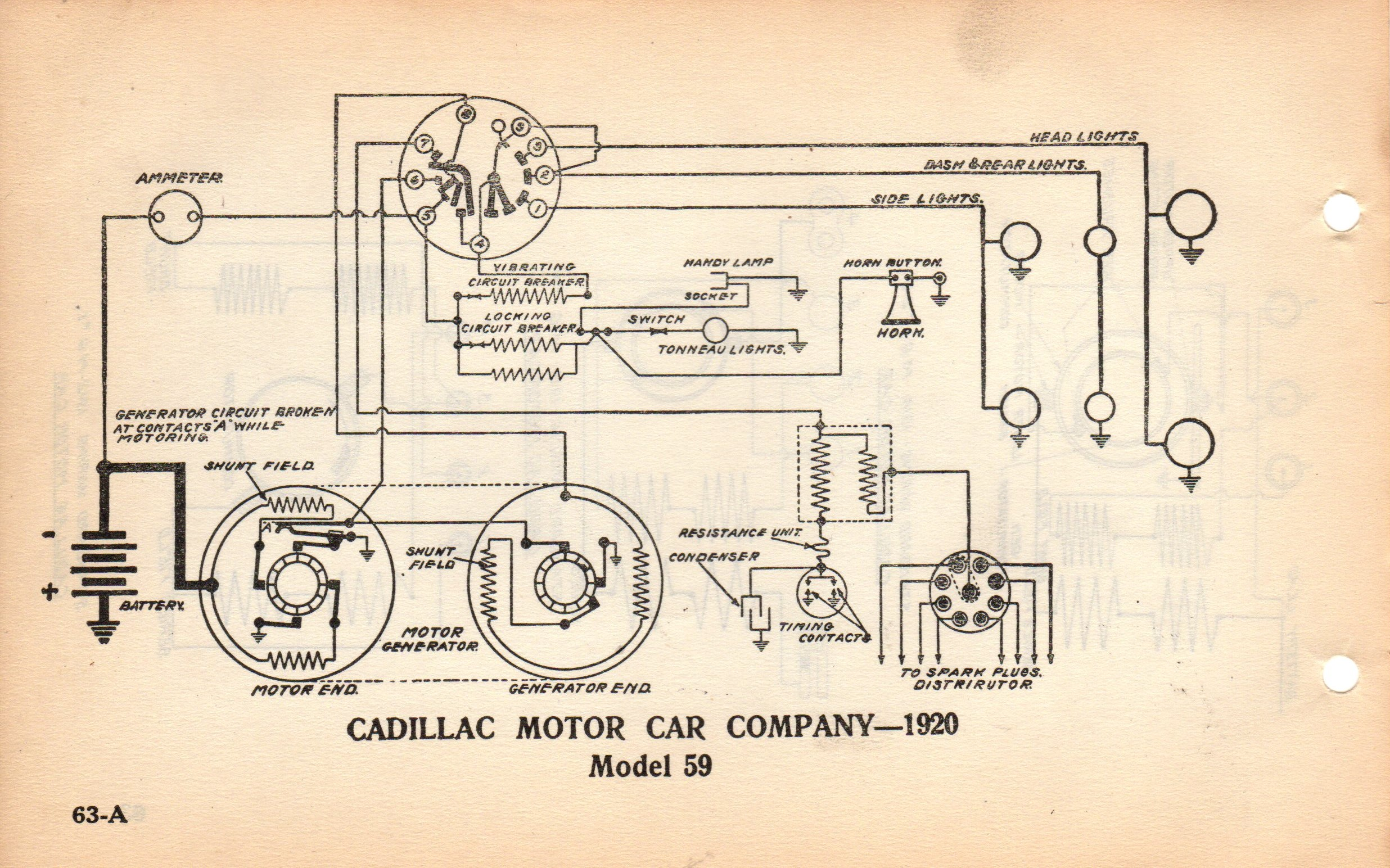 1960 Lincoln Wiring Diagram Library Diagrams Of Buick All Models Delco 1920 Starter Generator Question Page 2 Pre War On 1950 Continental