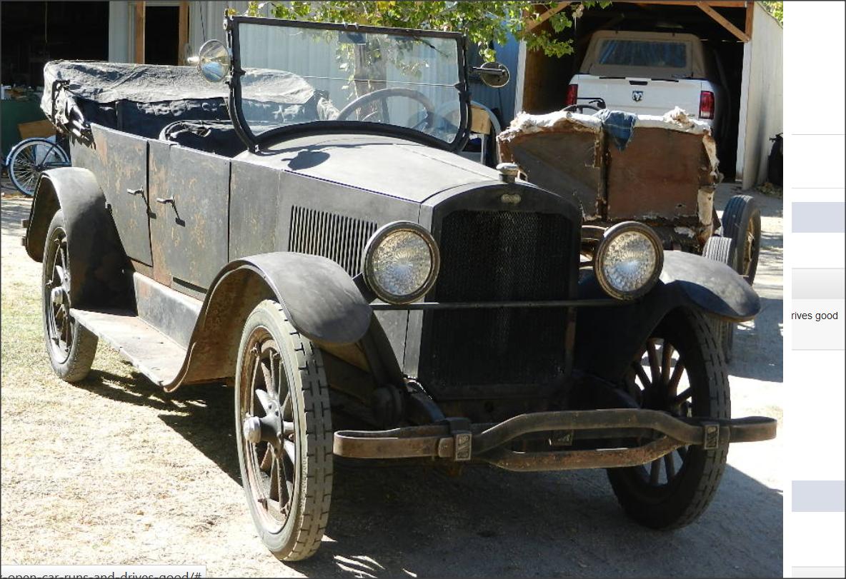 1920 Cleveland six chandler tourer model 40 - Cars For Sale ...
