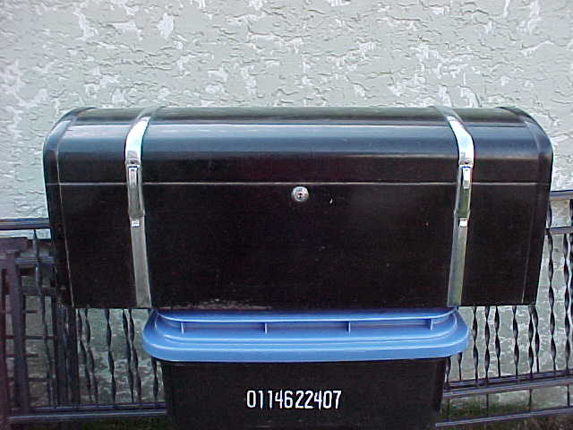 antique metal trunks rare metal low boy trunk for that special classic car chev and