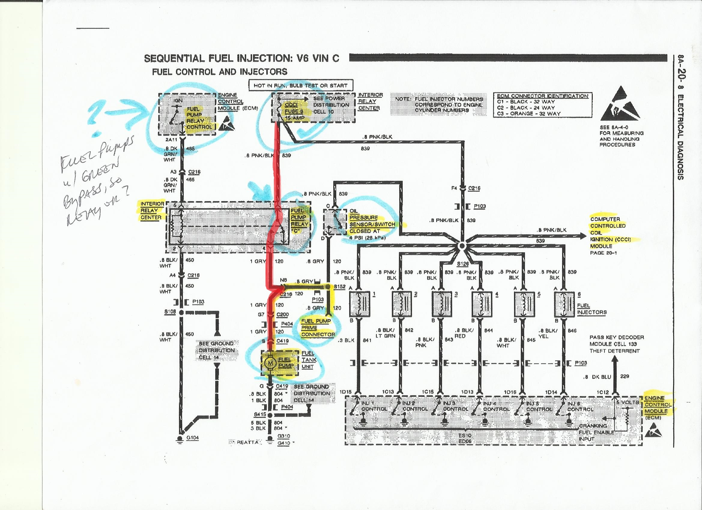 Buick Reatta Wiring Diagram Starting Know About Fuse Box Crank No Start Antique Automobile Club Of America Rh Forums Aaca Org