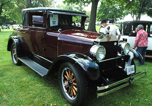 1926 Elcar Model 6-65 Coupe belongs to Shirley Young of Canal Winchester, Oh. 2009.jpg