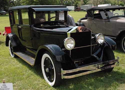 1925 Elcar Model 8-80 4D Brougham, 1, owned by Ken and Sue Vaughn of Belleville, Mich. 2007.jpg