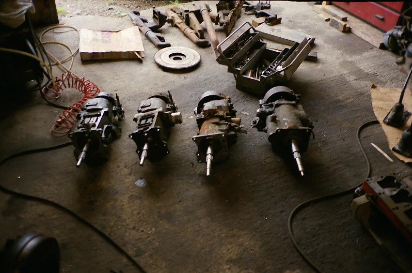 Chrysler transmissions, 1939-40  - Chrysler Products - General