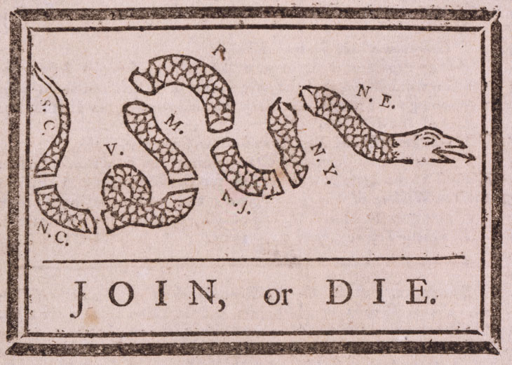 Benjamin Franklin--Join or Die Cartoon.jpg