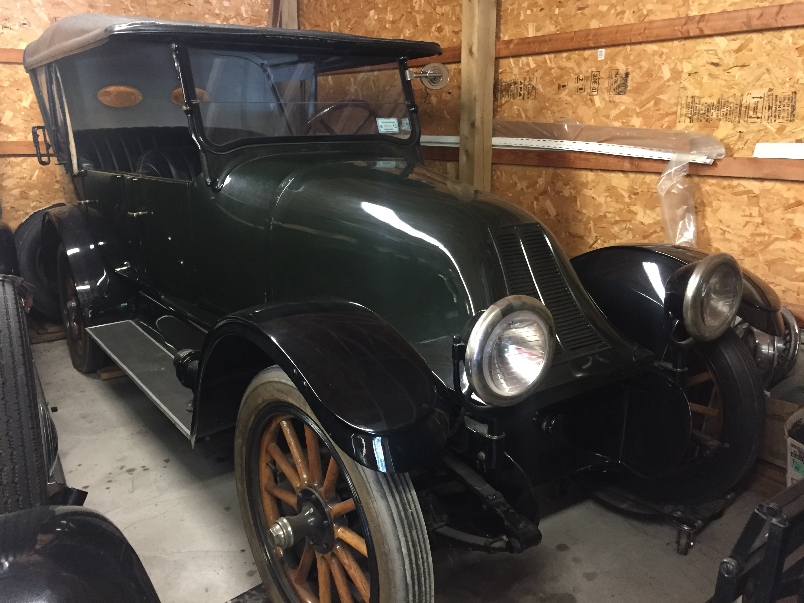 Franklin Touring car 1912 to 1919 - Franklin Buy/Sell - Antique ...
