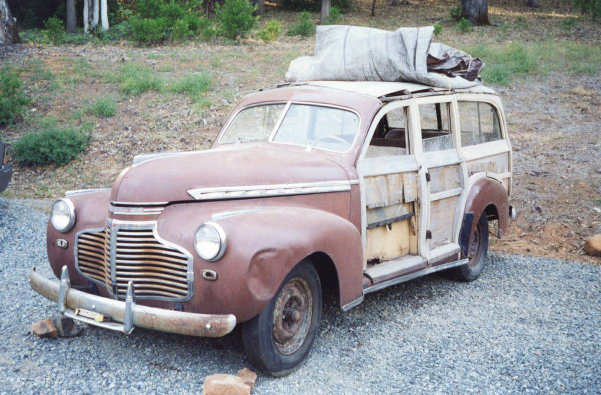 1941 Chevrolet Woodie Project Seattle WA craigslist - National