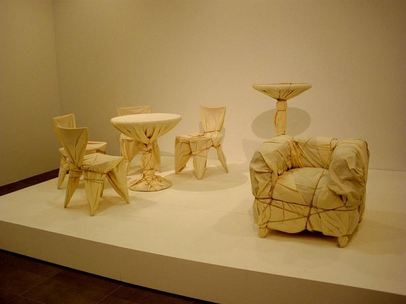 junk--Christo wrapped furniture.JPG