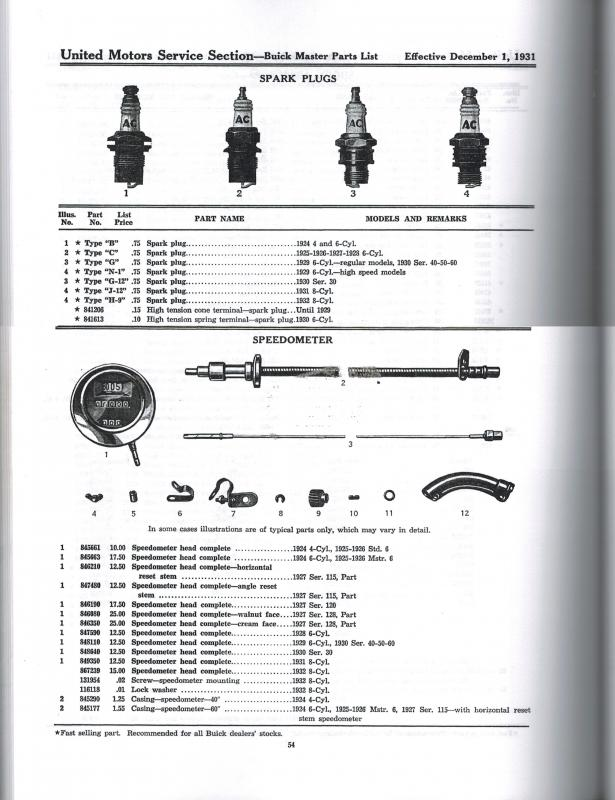 Buick Speedometer cable lengths 1.jpg
