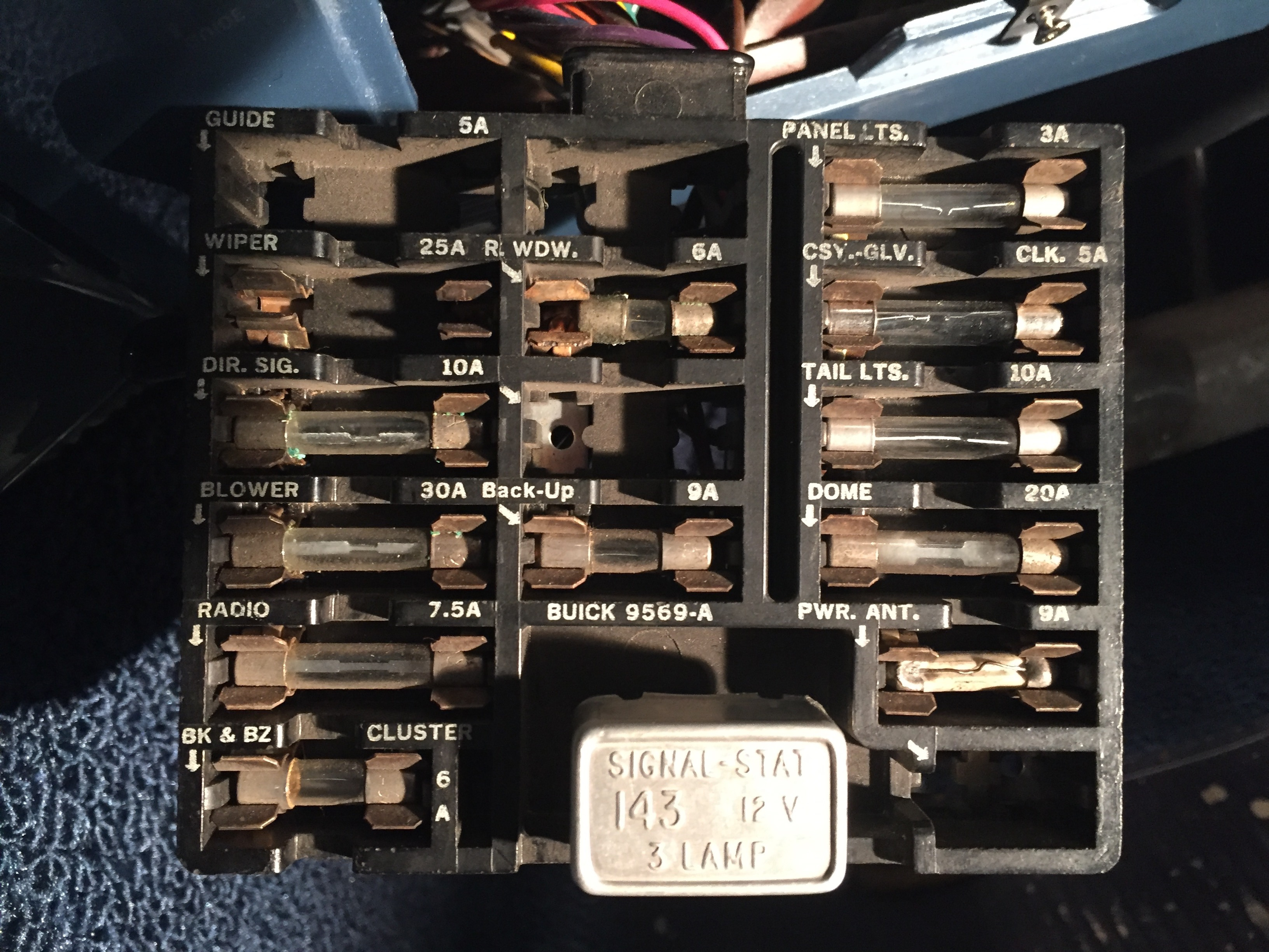64 Riv  Remove Panel From Fuse Box