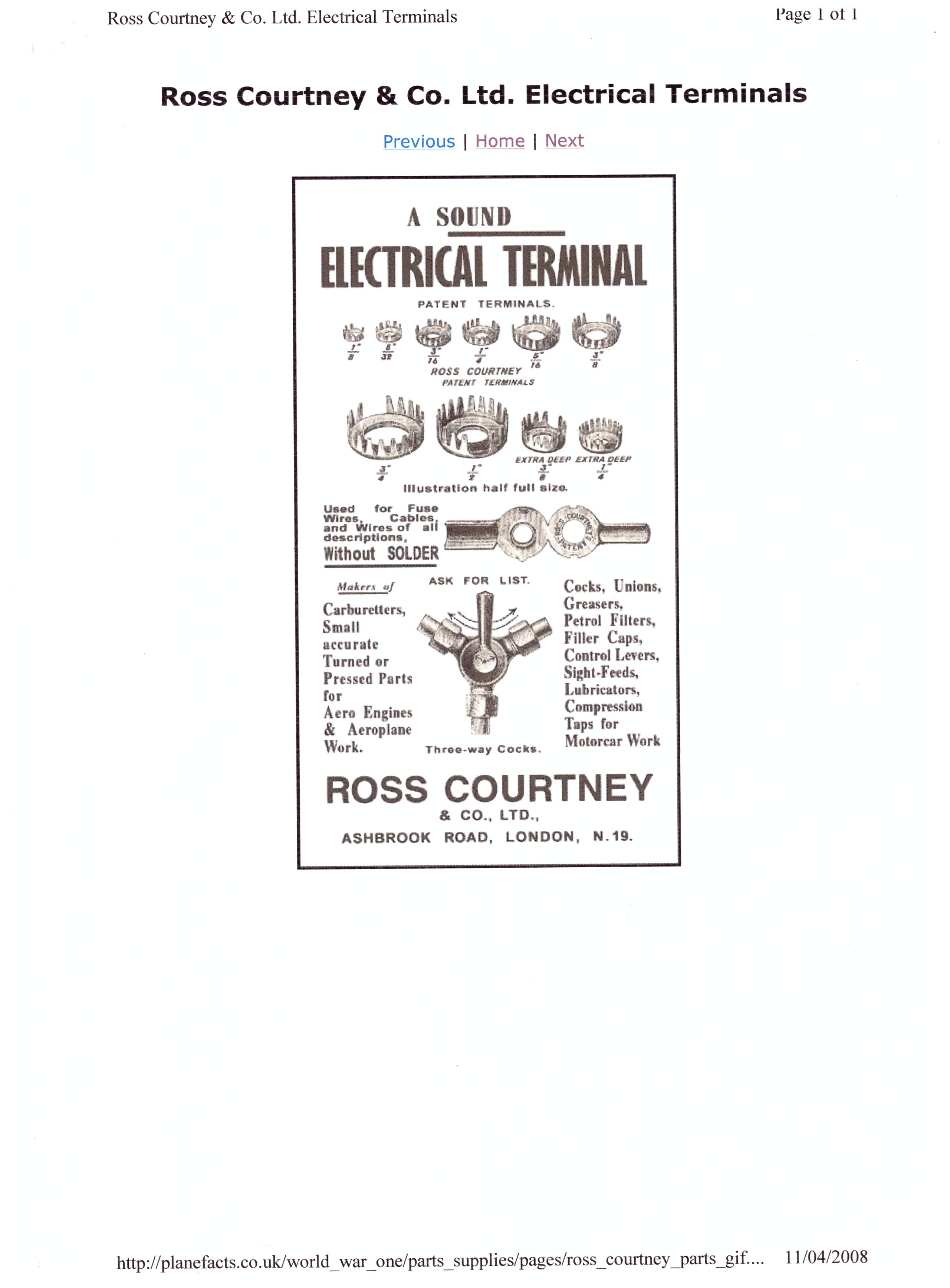 Electric Terminals Connections Technical Antique Automobile Club Wiring Supplies 58b3f3e1a3231 Wiringterminal001thumb1038f73a05cdfb173b970b5f5b702a19