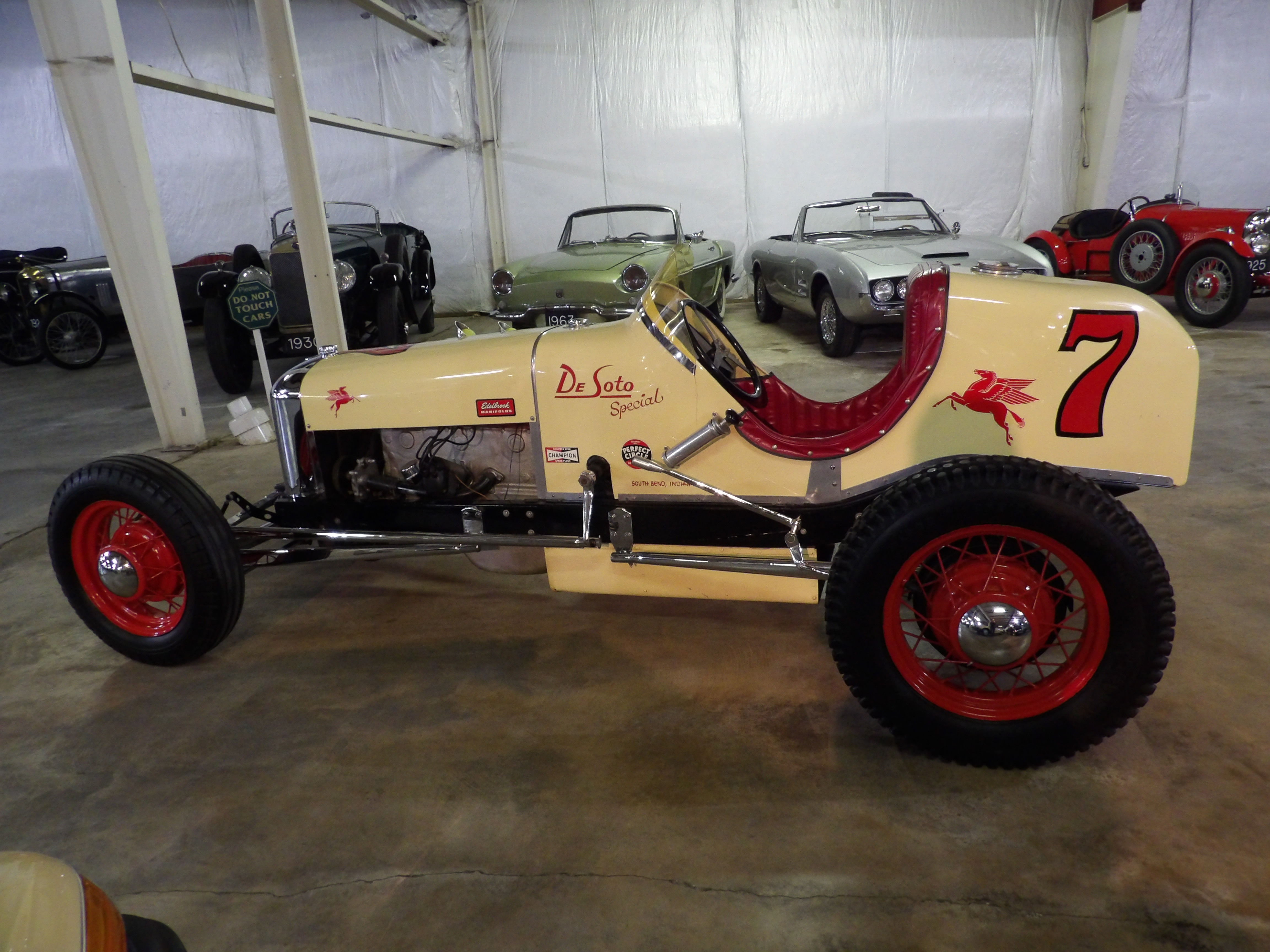 1928 DeSoto Indianapolis Style Race Car - Cars For Sale - Antique ...
