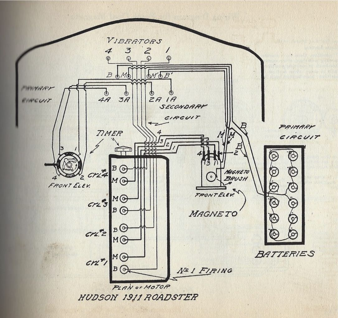 need wiring diagram for a 1909 open touring hudson essex rh forums aaca org