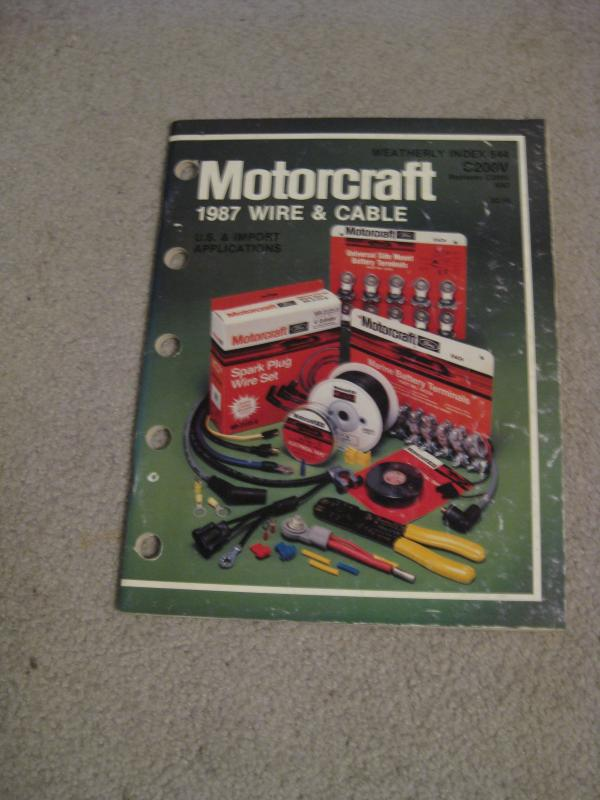 87 Motorcraft Wire Cable.JPG