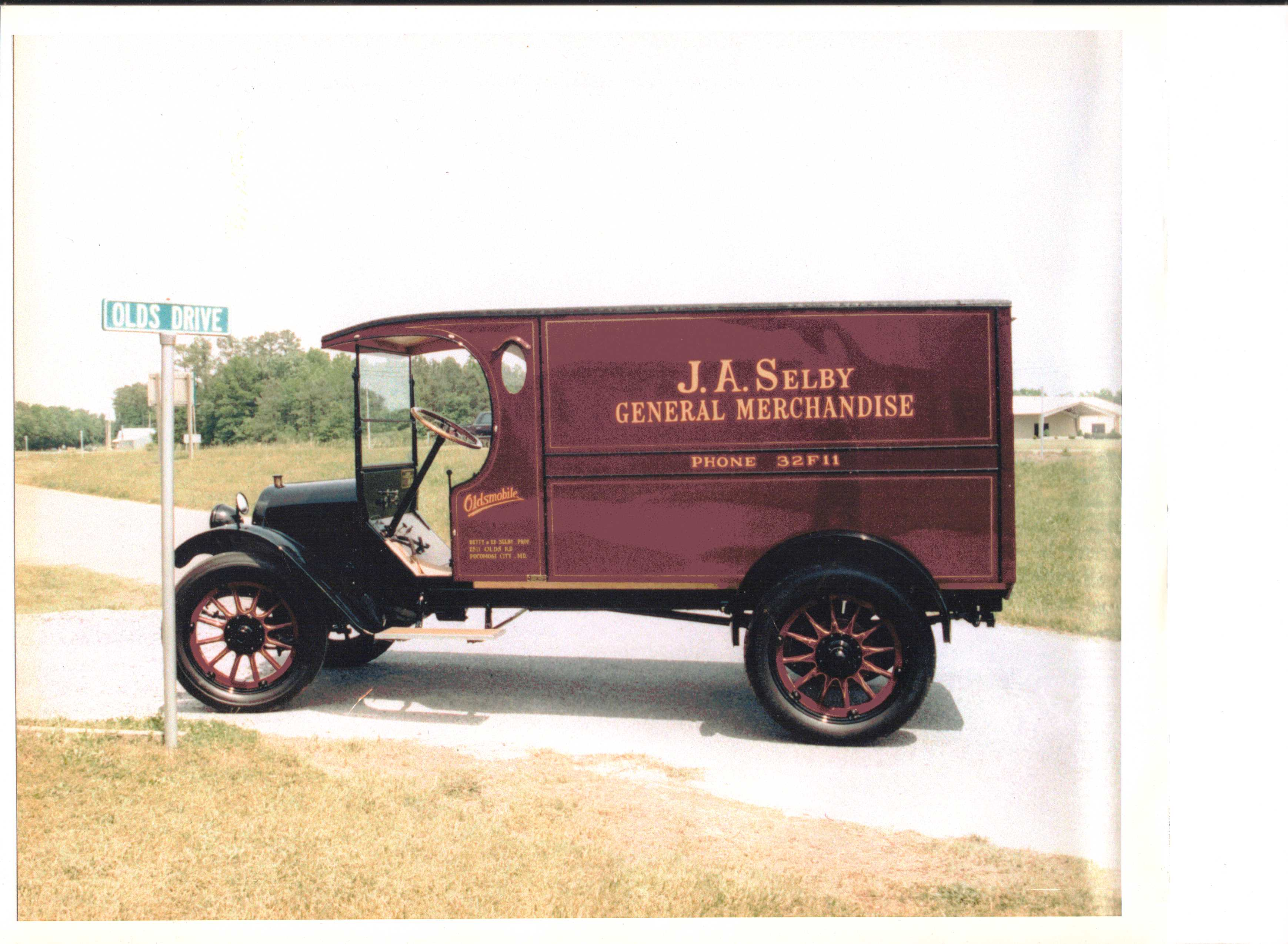 For Sale 1919 Oldsmobile Truck - Cars For Sale - Antique Automobile ...