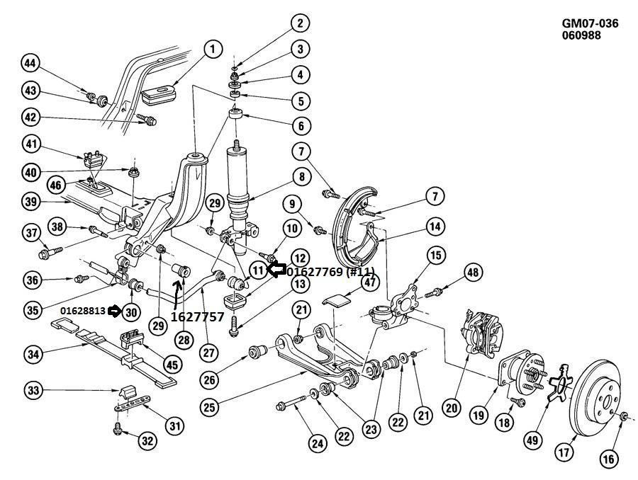 Buick Reatta Suspension Diagram Worksheet And Wiring Diagram