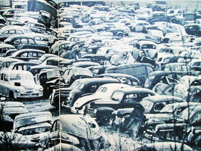 Swedish Junkyard before 1962