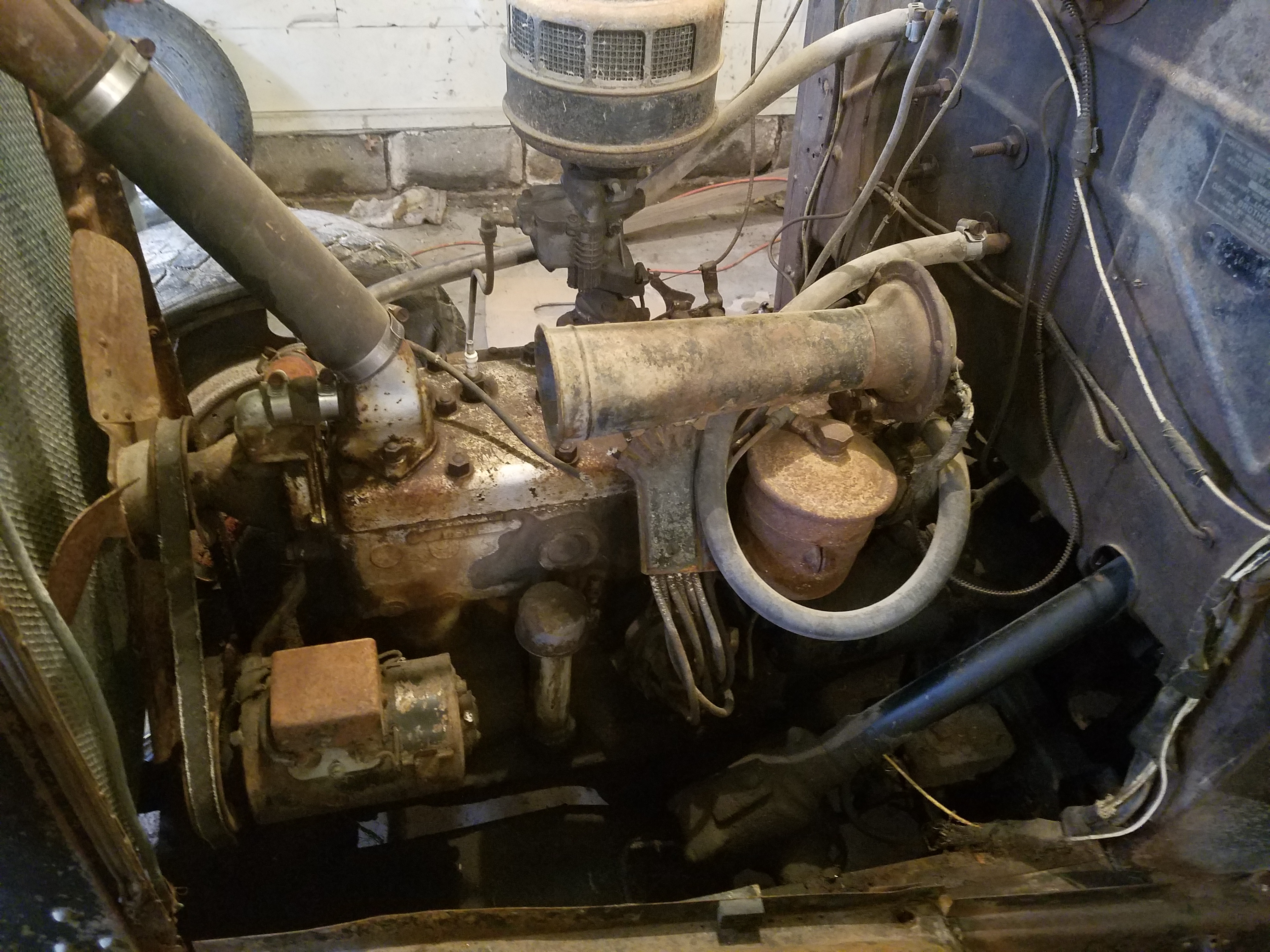 For Sale 1934 Dodge/Plymouth flathead 6 cylinder & tranny