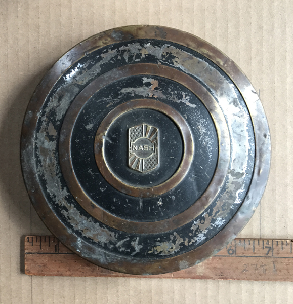 Nash Antique Hubcap Id Needed On This Wall Hanger What Is It