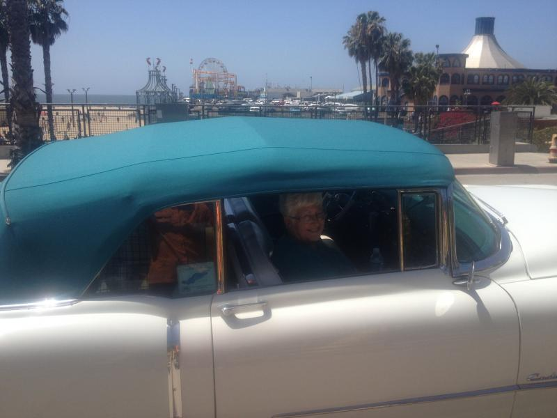 1954 Caddy at Santa Monica 3.JPG