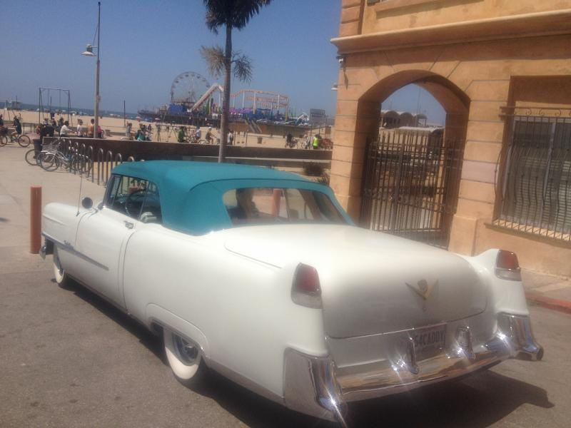 1954 Caddy at Santa Monica 1.JPG