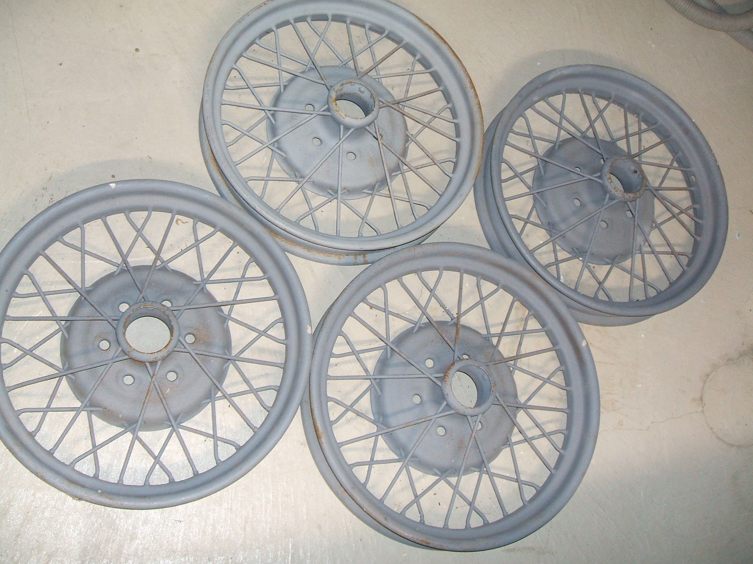 1929 Chevrolet accessory wire wheels SOLD - Cars For Sale - Antique ...