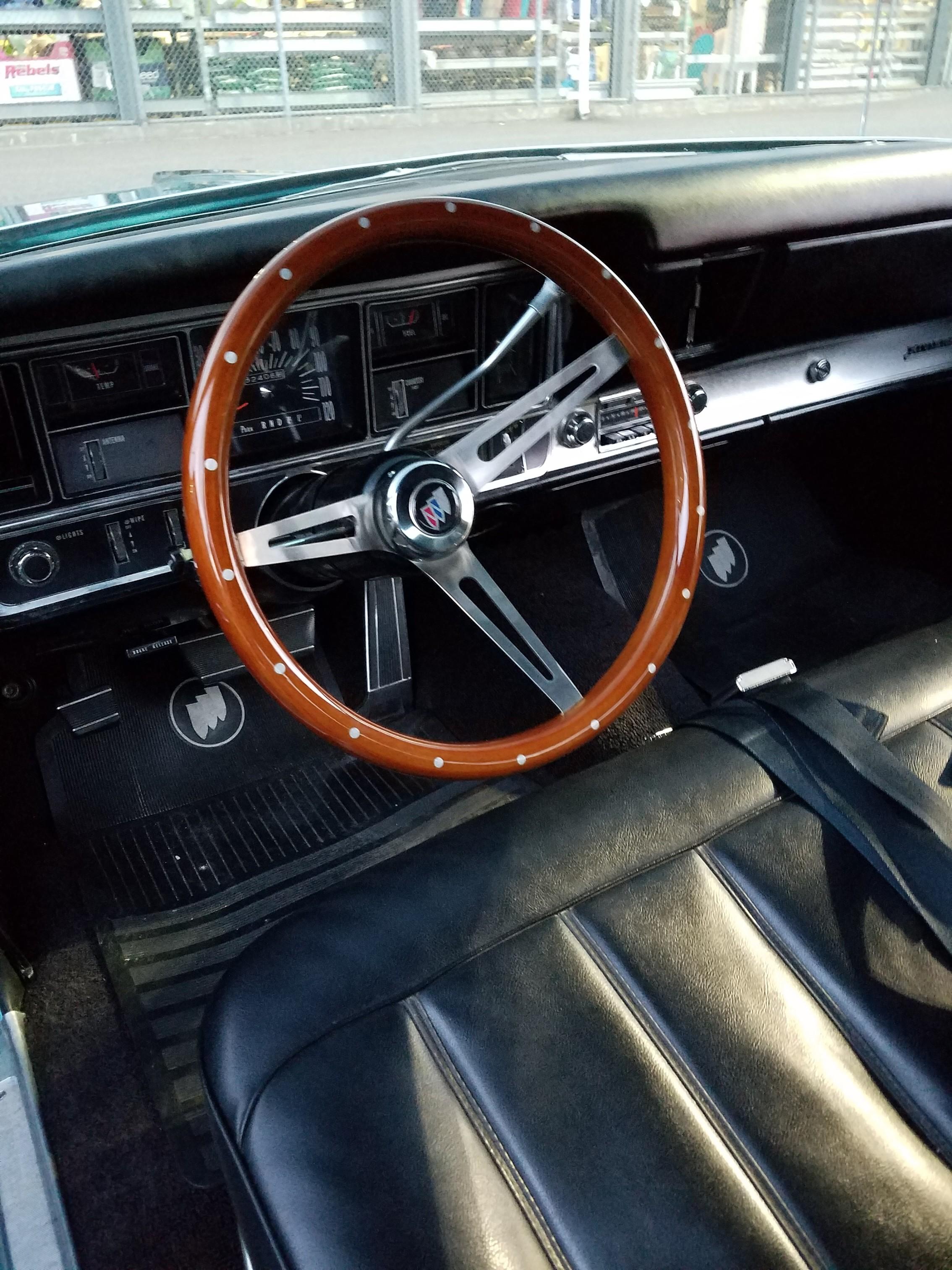 Grant Wood Steering Wheel Installation Buick Riviera Riviera