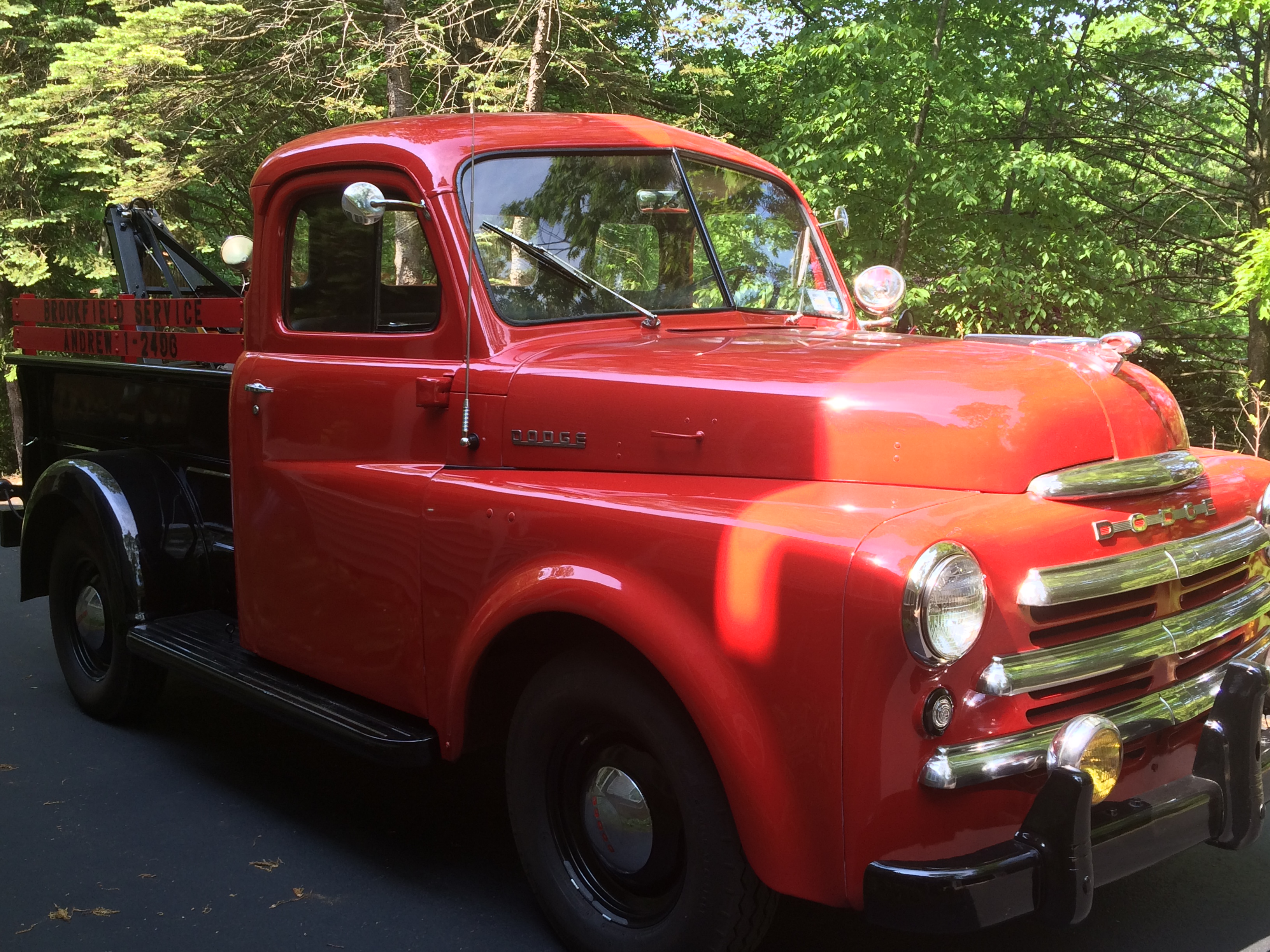 1949 Dodge Tow Truck Sold Cars For Sale Antique Automobile Club Pickup Of America Discussion Forums