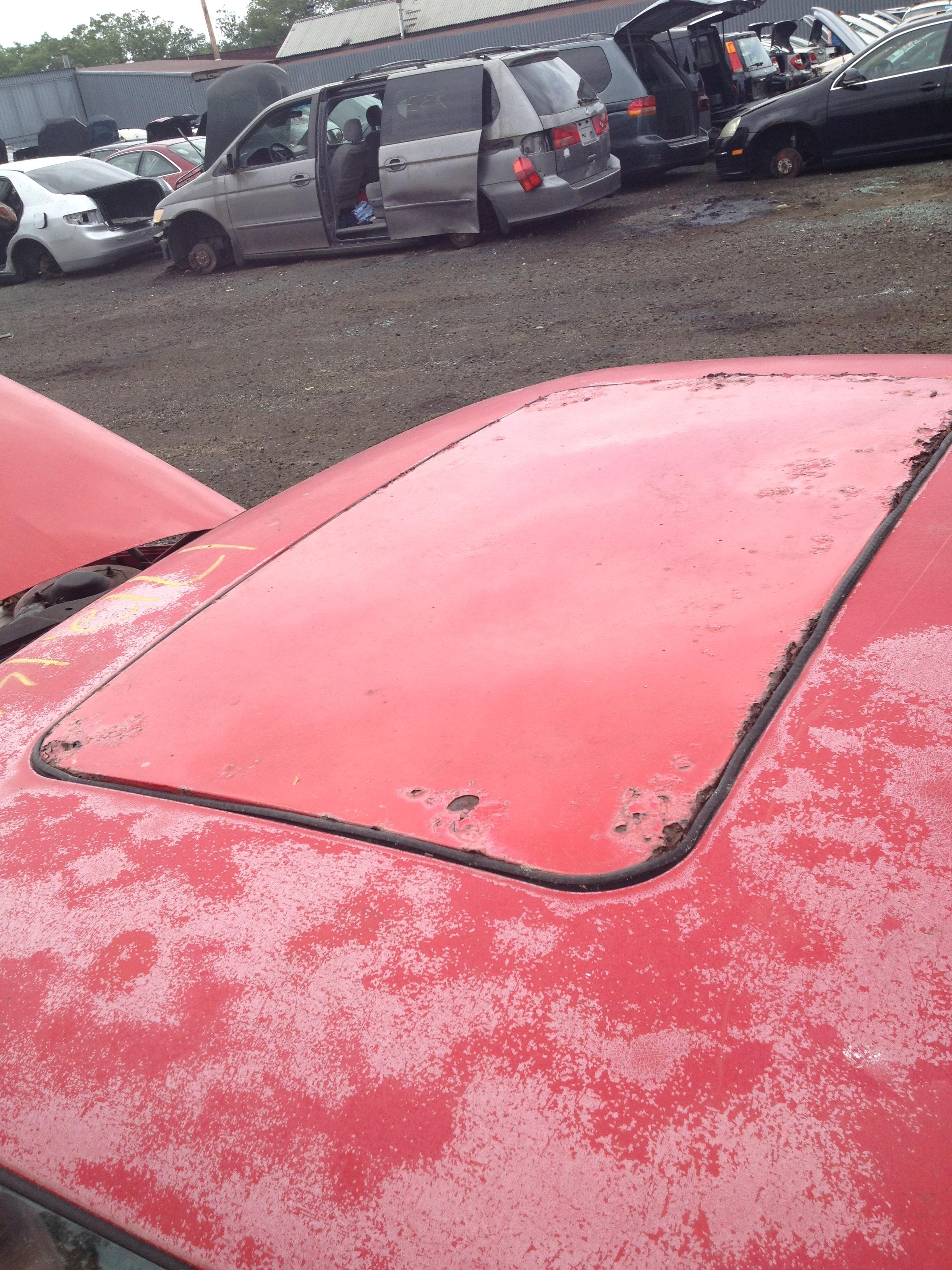 90 Reatta Coupe, Brockton, MA junkyard - Buick Reatta - Antique ...