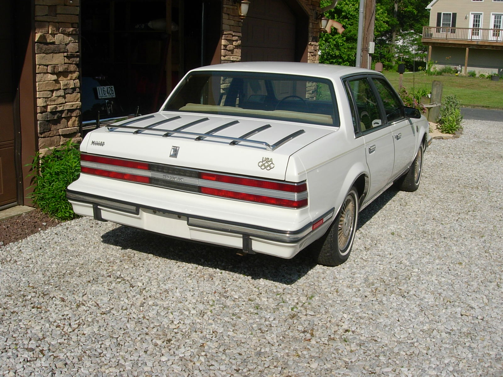 1984 buick century limited with olympic package