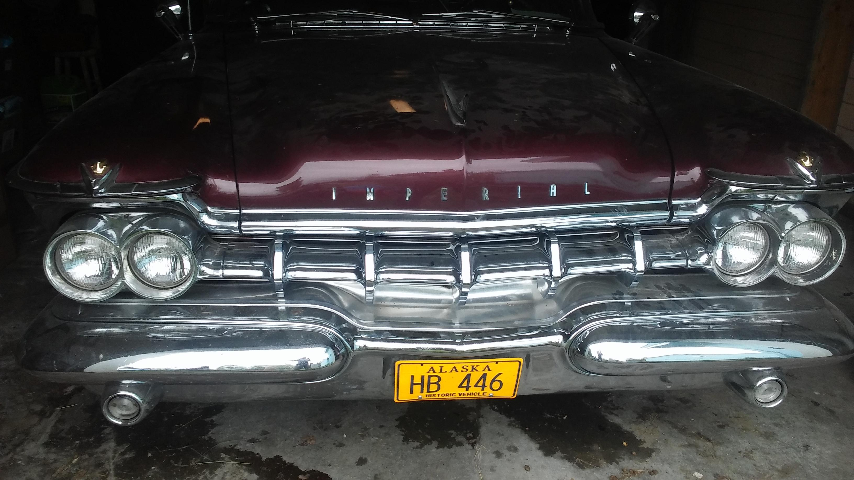 59 imperial possibly eisenhower Cars For Sale Antique