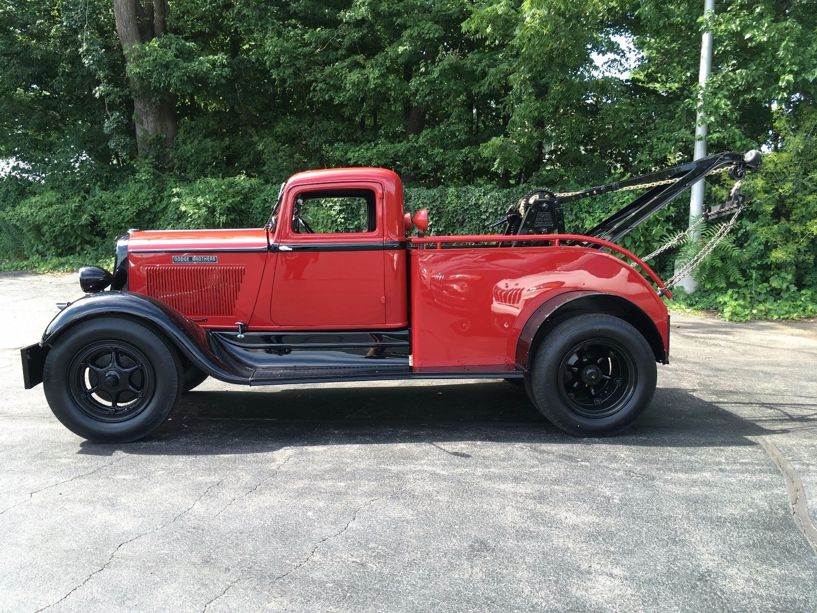 1933 Dodge tow truck for Sale 90K Not Mine Chrysler Products