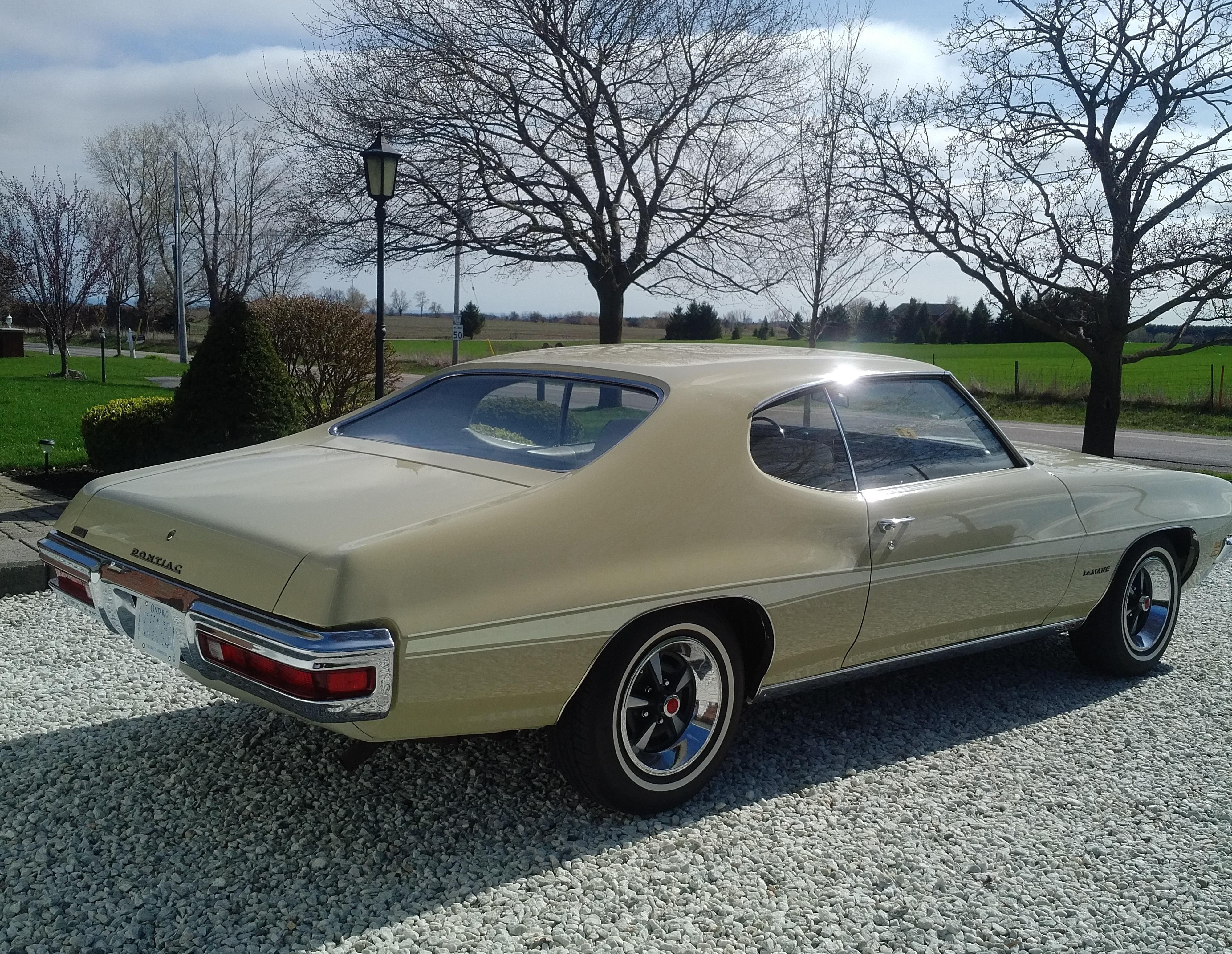 For Sale Immaculate Virginia Survivor, 1972 Pontiac Le Mans 2 door ...