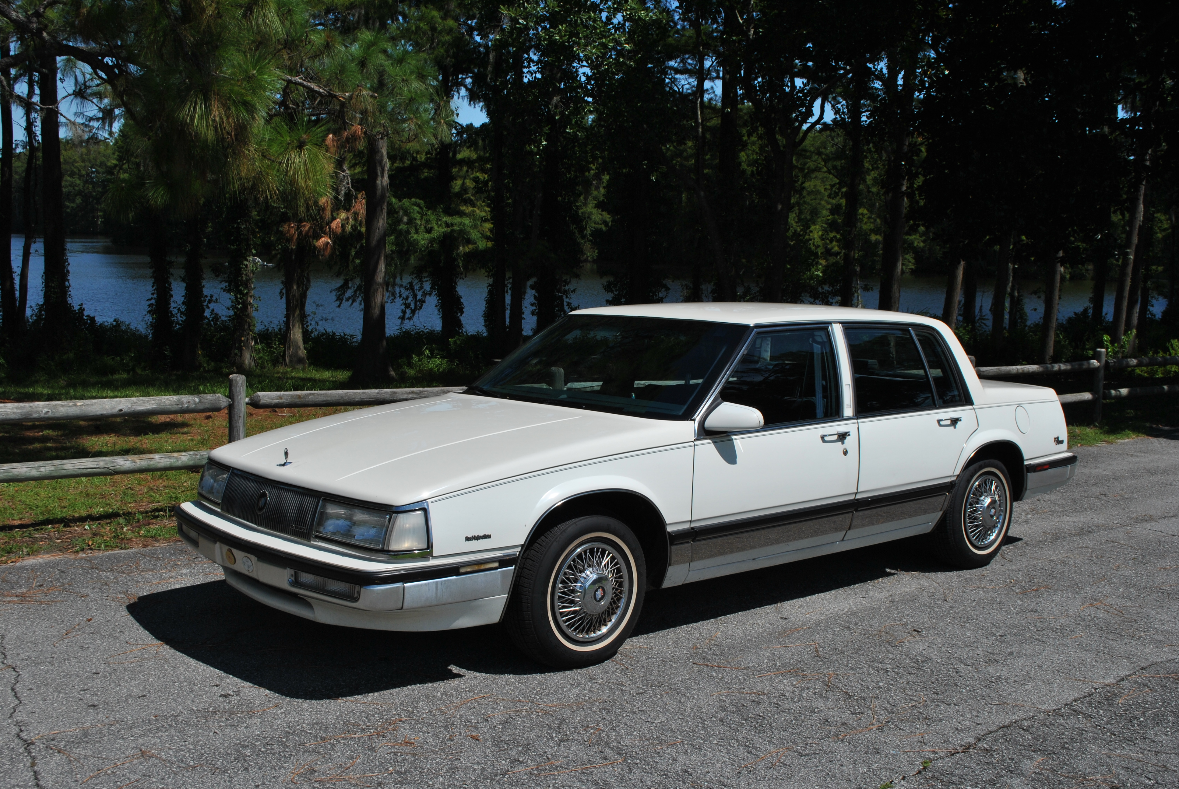 sold 1989 buick electra park avenue 4 door sedan aaca original