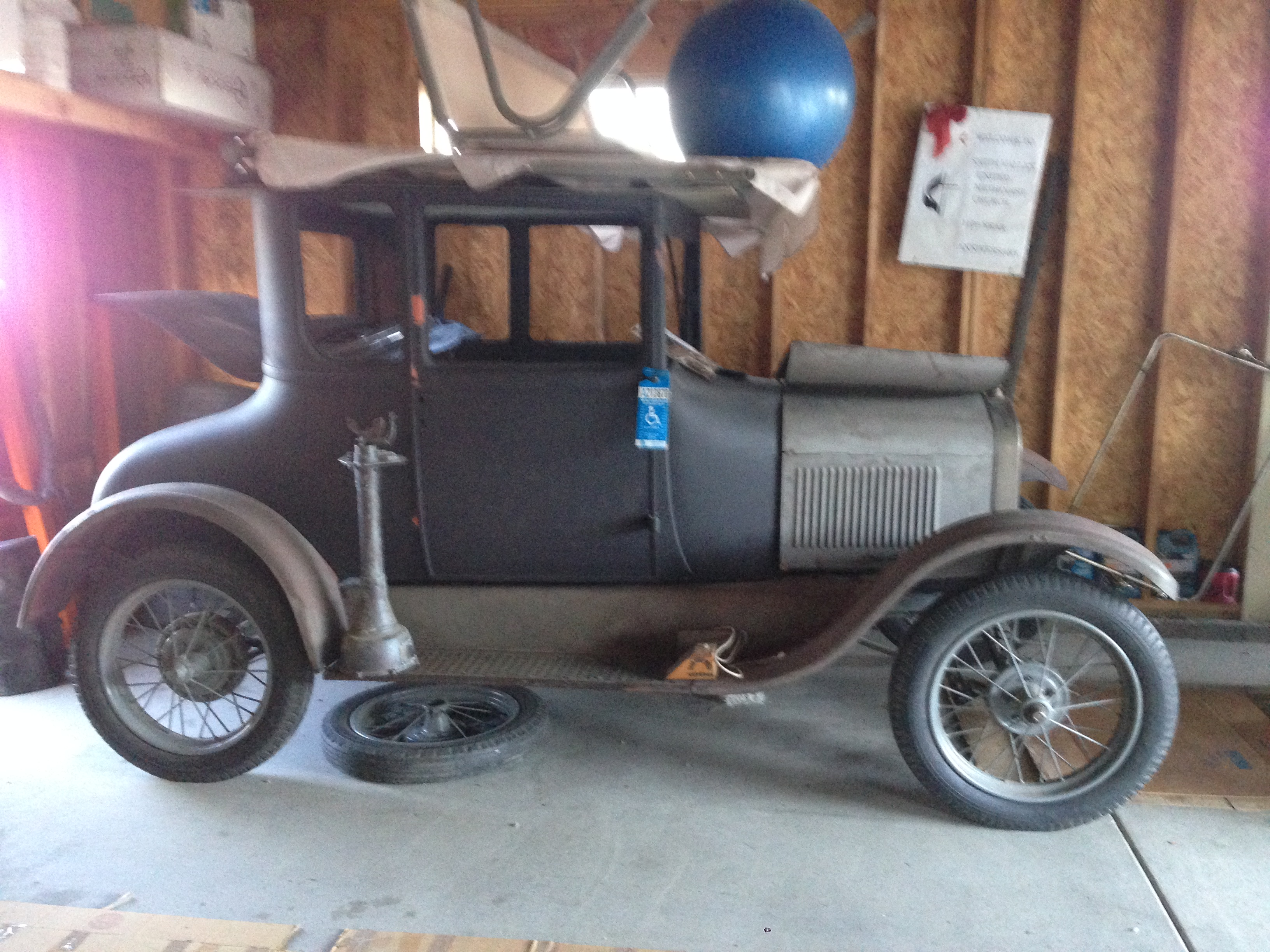 27 Model T coupe - Cars For Sale - Antique Automobile Club of ...